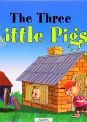 Три поросенка The Three Little Pigs Читаем вместе Книга Наумова 0+