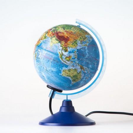 Глобус Земли физический с подстветкой Диаметр 150 мм Ке011500199