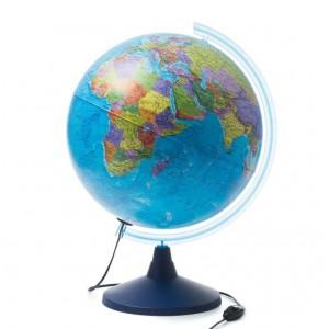 Глобус Земли политический Классик Евро 400 мм с подсветкой Ke014000245 0+