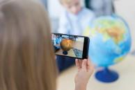 Глобус Земли интерактивный физико политический 250 мм с подсветкой Int12500284 6+
