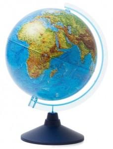 Глобус Земли физический Классик Евро 250мм Ке012500186 6+