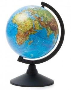 Глобус Земли физический Классик 210 мм К012100007 6+