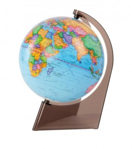 Глобус земли политический d210 мм 1:60000000 на треугольной подставке 10277