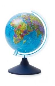 Глобус Земли политический Классик Евро 210 мм Ke012100177 6+