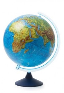 Глобус Земли физический Классик Евро 320 мм Ке013200224 6+