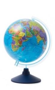 Глобус Земли политический Классик Евро 250 мм Ke012500187 6+