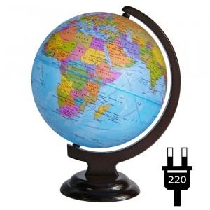 Глобус Политический Двойная карта с подсветкой 250 мм 10394