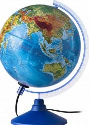 Глобус Земли физический с подсветкой Классик Евро 320 мм ке013200226 6+