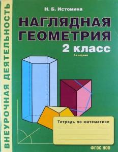 Наглядная геометрия 2кл Тетрадь по математике Истомина
