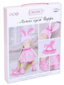 Интерьерная кукла Паффи набор для шитья 18,9 * 22,5 * 2,5 см 3299327