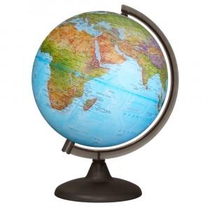 Глобус Земли физический без подсветки диаметр 250 мм 10160