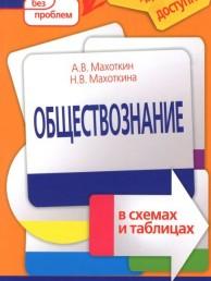 Обществознание в схемах и таблицах Пособие Махоткин АВ 6+
