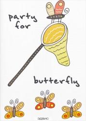 Блокнот для записей Party for butterfly A6