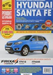 Hyunday Santa Fe выпуск с 2006 года, рестайлинг в 2010 году Книга Гаврилов
