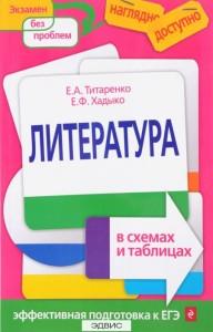 Литература в схемах и таблицах ПособиеТитаренко ЕА 6+