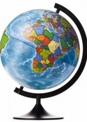 Глобус Земли политический Классик Евро 250 мм Ke012500187