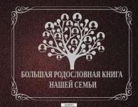 Большая родословная книга нашей семьи Книга Зарина О 6+