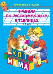 Правила по русскому языку в таблицах и схемах 1-4 класс Пособие Цыганков И 6+