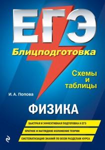 ЕГЭ Физика Блицподготовка схемы и таблицы Пособие Попова ИА 6+