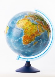 Глобус Земли физический рельефный Классик Евро 320 мм Ке013200229 6+