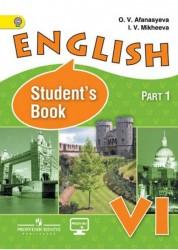 Английский язык 6 класс Учебник 1-2 часть комплект Афанасьева ОВ Михеева ИВ
