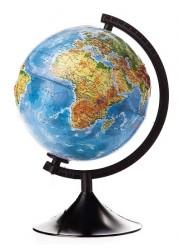 Глобус Земли физико-политический с подсветкой D 210 мм Классик К012100089