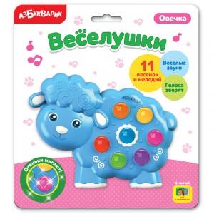 Электронная музыкальная игрушка Веселушки Овечка 3+