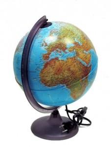 Глобус ORION 20 см Географический с подсветкой Италия RUSSO 1/12