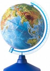 Глобус Земли физический Рельефный Классик Евро 250 мм Ке022500193 6+